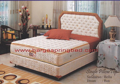 spring bed murah harga spring bed termurah airland comforta guhdo king koil romance. Black Bedroom Furniture Sets. Home Design Ideas