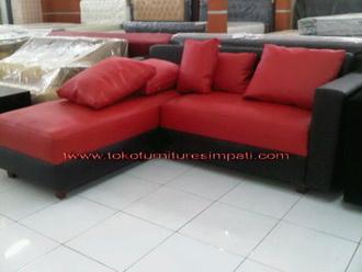 Gambar Sofa Merah : KURSI TAMU / SOFA MURAH - BANGKU TAMU - MEUBEL - MEBEL - SOFA MURAH ...