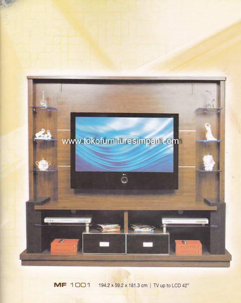 Rak TV Tempel Dinding Minimalis