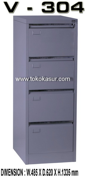 filing cabinet 4 laci, filling kabinet